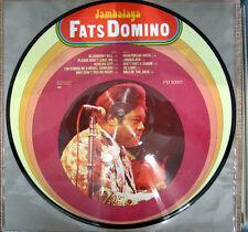 PICTURE LP / FATS DOMINO / JAMBALAYA / TOP RARITÄT /