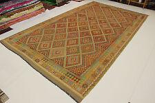SUR MESURE nomades Kelim très bien pièce unique PERSAN TAPIS tapis d'Orient