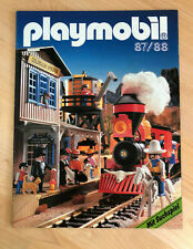 Playmobil Katalog 1987 / 1988