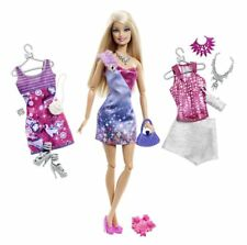Barbie Fashionistas Ultimate Wardrobe ~ Doll Plus Extra Outfits & Accessories