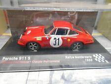 PORSCHE 911 S ST Rallye Monte Carlo 1969 #31 Larrousse Perramon IXO Alta SP 1:43