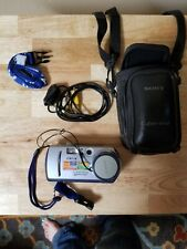 Sony Cyber-Shot DSC-P30 1.3MP Digital Camera, Case, Cords and Battery