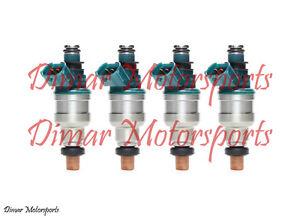 Mazda 1.6L 2.2L  515cc 49lb 49# Fuel Injector Performance Upgrade Set