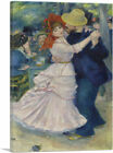 ARTCANVAS Dance at Bougival 1883 Canvas Art Print by Pierre-Auguste Renoir