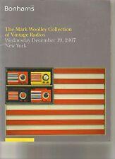 RARE - BONHAMS Vintage Radios Woolley Collection Fada Garod RCA Catalog 2007