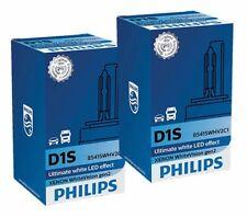 COPPIA LAMPADE D1S ORIGINALE PHILIPS XENON WHITE VISION LED EFFECT 85415WHV2C1