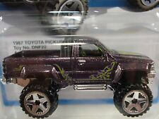 Hot Wheels 1987 TOYOTA PICKUP 4X4 Target Retro Series new in package HTF
