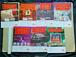 Royal Mail Dealers poster A4 size: European version: 1996   seven     items