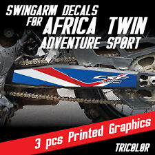 Africa Twin Swingarm Graphic Kit for CRF1000L TRICOLOR adventure sport