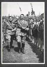 H0727 DEUTSCHES REICH ADOLF HITLER WWII RARE PHOTOGRAPHS CIGARETTE CARDS