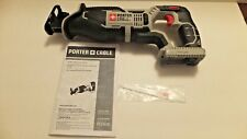 Porter Cable PCC670B 20V Max Lithium Reciprocating Saw Tigersaw Sawzall NEW