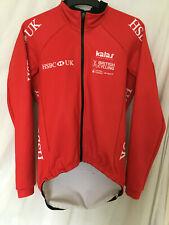 Kalas cycling bike team heavy winter jacket hood balaclava GB HSBC bike size 5