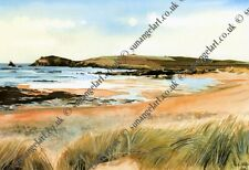 Constantine Bay Padstow Cornwall UK Landscape Photography Print
