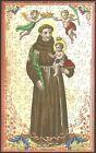 SANTINO HOLY CARD IMAGE PIEUSE - SANT'ANTONIO DI PADOVA