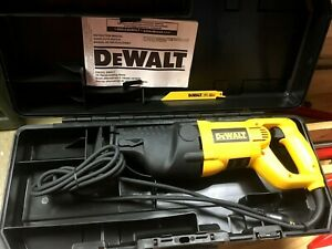 DEWALT DW310K 120v HEAVY DUTY RECIPROCATING SAW Kit with Case NEW