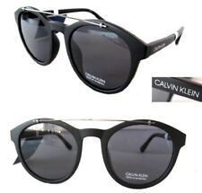 NWT Calvin Klein Mens Sunglasses CK19562S Black/Black + Generic  Pouch