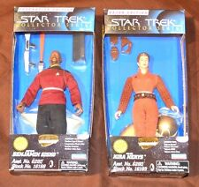 Star Trek 1997 Playmates Collectors Series Captain Sisko & Major N