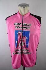 Giro delle Dolomiti Rosa CYCLING JERSEY MAGLIA RUOTA MAGLIA TG. XXL 58cm 10a