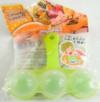 Japanese BENTO Lunch Accessories Animal Friends Rice Maker Mold 3 pc. New