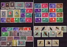 Poland - 1960 Year Collection Mnh Sc# 906/ 946 Inc. Imperforated Sports, Birds
