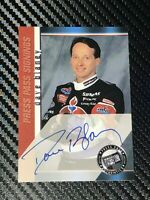 Dave Blaney PRESS PASS SIGNINGS 2000 AMOCO autographed card *FREE SHIPPING*