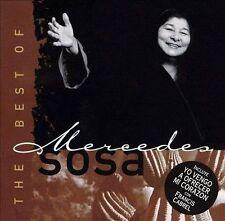 Mercedes Sosa- Best of (Mercury) CD NEW
