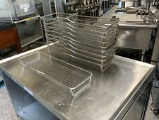 Lot Of Ten 10 Rational Stainless Steel Chicken Oven Basket 6073679