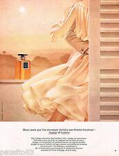 PUBLICITE ADVERTISING 055  1973  PARFUM femme ARPEGE de LANVIN