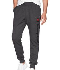 Champion Mens Graphic Powerblend Fleece Jogger Pant, Heather Granite, 2XL