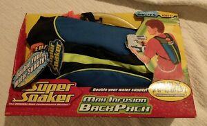 Super Soaker Max Infusion Backpack 100 OZ Capacity Hasbro 2006 52975