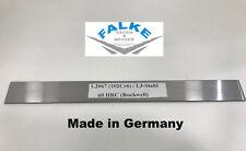 Cuchillo de acero acero para herramientas damascos 1.2067 (102cr6)/cuchillas de acero de 500 x 41 x 3 mm