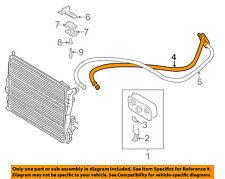 BMW OEM 01-05 325i 2.5L-L6 Transmission Oil Cooler-Inlet tube 17221438675