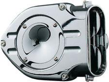Kuryakyn - 9422 - Chrome Hypercharger Air Cleaner 1998-2014 Yamaha V-Star 650