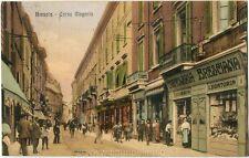 1914 Brescia - Corso Magenta, negozi e passanti - FP COL VG ANIM