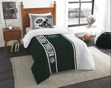 Northwest Nfl New York Jets Sham & Twin Comforter Bedding Set