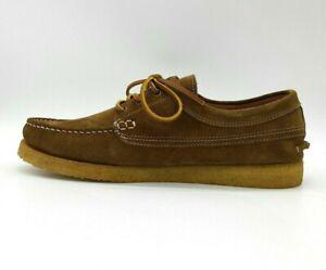 John Lewis Crepe Story Leather Shoes Nt UK 8