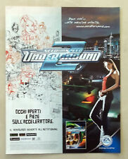 B805-Advertising Pubblicità-2004-UNDERGROUND 2  XBOX