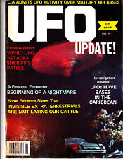 UFO Update Spring 1980 Weird UFO ATTACKS Bases in the Caribbean Nightmare