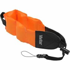 Foam Strap Vivitar Orange Floating For Olympus Tough TG-320 TG-820 TG-1 iHS