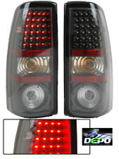 00-07 Silverado 3500 Denali LED Tail Lights Carbon DEPO