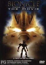 Bionicle MASK OF LIGHT THE MOVIE DVD LIKE NEW CONDITION FREE FAST POST