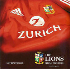 British & Irish Lions 2005 Official Tour Guide Individual Player Profiles
