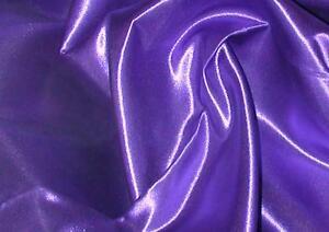 """Purple Bridal Satin Sheet Set - Twin, Full, Queen, E. King, Cal King - 15"""" drop"""