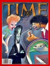 TIME Magazine 1998 JUNE 8 Artists and Entertainers of the Century 100 Issue