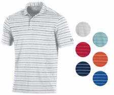 Under Armour Desempeño A rayas Camisa Polo Golf 2.0 nuevo para hombre-elige color!