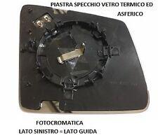 PIASTRA SPECCHIO VETRO TERM FOTOCRO SINISTRO 001123 MERCEDES CLASSE ML W166 2011