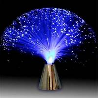 LED Fiber Optic Light Lamp Christmas Wedding Multicolor Changing Home Decoration