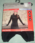 ClimateRight Cuddl Duds Long Sleeve Crew Plush Warmth Base Layer Size XS Black