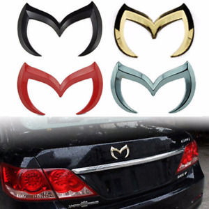 3D Evil M Emblem Logo Bat Rear Badge Decal for Mazda 3 6 Mazdaspeed CX Miata