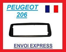 Cadre de radio façade autoradio pour Peugeot 206